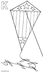 Kites Coloring Pages Of Happy Face Kite Flying Colouring