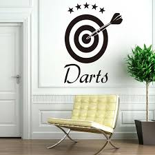 dctop darts wall decal home sticker target sports removable vinyl wall stickers for children living room on wall art stickers target with dctop darts wall decal home sticker target sports removable vinyl