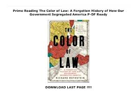 Prime History Chart Amazon Charts The Color Of Law A Forgotten History Of How