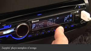 sony xplod mex bt3900u car receiver display and controls demo sony mex-bt3600u bluetooth pairing at Sony Mex Bt3600u Wiring Diagram