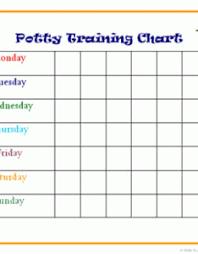 Potty Training Chart Pdf Www Homeschoolingforfree Org