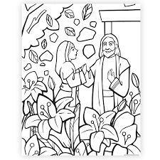 The best free, printable easter coloring pages! The Garden Tomb Easter Coloring Page