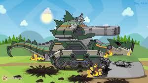 DANH CHO BÉ - Phim hoạt hình xe tăng - Phim hay cho trẻ. [Tập 3]