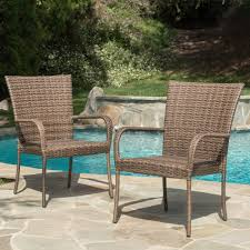 leisure world patio furniture lovely outdoor pe wicker stackable