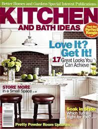 Kitchen And Bath Magazine Featured In Kitchen And Bath Ideas