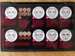anastasia contour kit guide. contouring instructions are provided on the back of ac tour: and highlighting anastasia contour kit guide