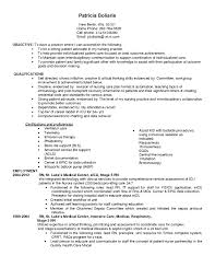 Resume Templates For Nurses Registered Nurse Resume Templates RESUME 86