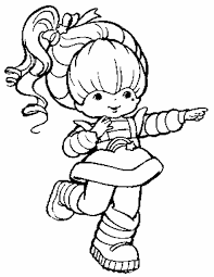 Small Picture Rainbow Brite Coloring Pages GetColoringPagescom