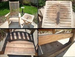 Patio Used Teak Patio Furniture