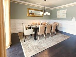 Dining Room Wainscoting Ideas Crown Molding And Wainscoting In Bright White Lighten This