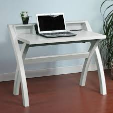 curved office desk. Get Quotations · 1PerfectChoice Contemporary Computer Study Desk Hutch USB Outlet Port Insert White Curved Legs Office
