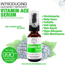 vitamin a c e serum with mulberry extract 40ml