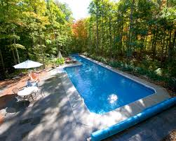 inground pools with waterfalls and hot tubs. In Ground Pool With Lap Lane Inground Pools Waterfalls And Hot Tubs