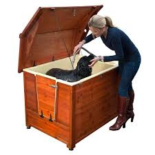 don39t have room for a dog wash in the house this outdoor version dog bathtubs