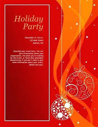 Holiday Party Invitation Template For The Invitations Design Of Your