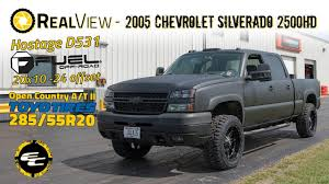 RealView - 2005 Chevy Silverado 2500HD w/ 20x10 Fuel Hostages ...