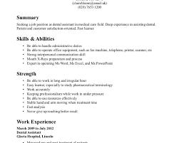 breakupus splendid child care worker resume sample job resume breakupus handsome dental assistant resume example certified dental assistant resume amazing resume and scenic housewife
