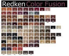 Redken Hi Fusion Color Chart Sbiroregon Org