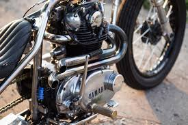 blue is the color an ice cool yamaha xs650 bobber bike exif