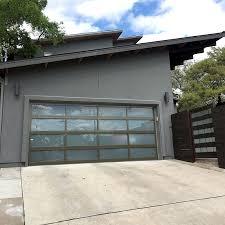 glass garage door austin texas