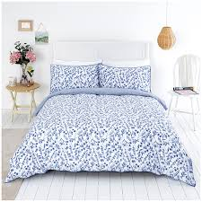 close image for sainsbury s home meadow blue ditsy printed bed linen from sainsbury s