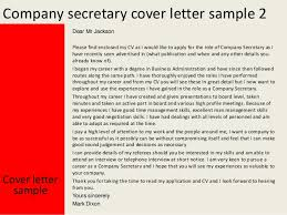 Ideas Collection Cover Letter Company Secretary With Pany Secretary