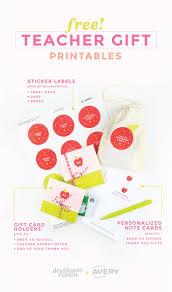 Free Printable Note Cards 3 Free Printable Teacher Gift Ideas Free Note Cards Gift Card