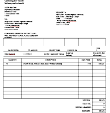 Catering Invoice Example Catering Invoice Template Here Are 4 Smart Tips And