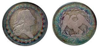 Flowing Hair Half Dollar Value History Charts Landofcoins Com
