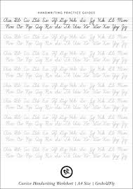 Kids. easy writing worksheets: Printable Cursive Writing ...
