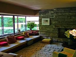frank wrights falling water interior 1 rugs lloyd wright design
