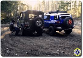 you should this before modifying your off road vehicle off land rover d90 toyota fj cruiser airing down