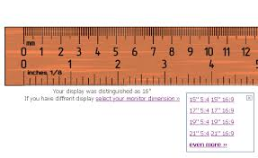 mm ruler online actual size printable. ruler on your computer mm online actual size printable