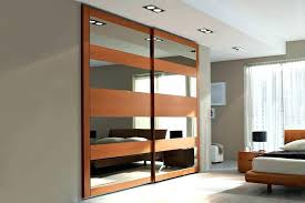 closet door mirror amazing sliding doors repair menards