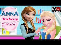 stardoll makeup tutorial tune pk games middot anna makeup artist y8 games disney frozen princess elsa