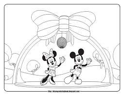 Small Picture Mickey Mouse And Minnie Mouse Coloring Book Pages Coloring