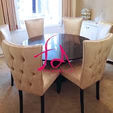 quartz bespoke round 1 4m dining table
