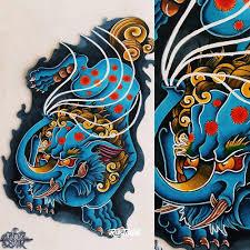фото эскизы баку баку в стиле нео традишнл татуировки на икре