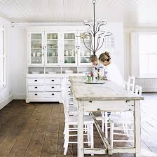 shabby chic kitchen furniture. simple chic white kitchen dining table and dresser throughout shabby chic kitchen furniture