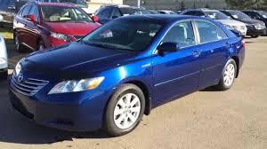 Pre Owned Blue on Grey 2008 Toyota Camry Hybrid 4dr Sdn Southwest ...