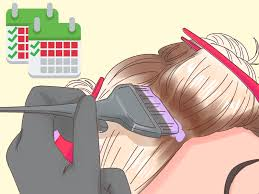 Bleach Hair Time Chart How To Bleach Brown Hair With Pictures Wikihow