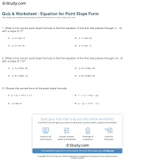 finding linear equations point slope form calculator with