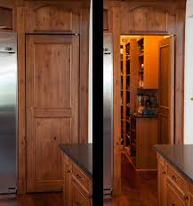 Lake House Kitchen Mullet Cabinet Knotty Cherry Lake House Kitchen