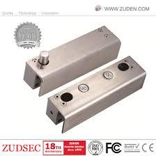 electric bolt lock for fully frameless glass door