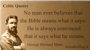 Anti Christian Quotes Best of George Bernard Shaw Quotes On Religion Ireland Calling