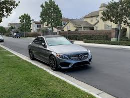 Amg c 43 4matic wagon. 2017 Selenite Gray Mercedes C43 Amg Sedan With Performance Exhaust Lease Transfer 517 Mbworld Org Forums