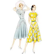 Vogue Pattern Interesting Vogue Vintage Misses Sewing Pattern 48 Dress Belt EBay