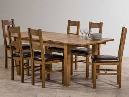 chair dining room tables rustic chairs: image of rustic extendable dining table set expandable dining table set rectangular