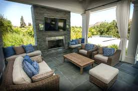 a covered patio with fireplace and outdoor ideas fireplaces barbecues photo gallery covered patio