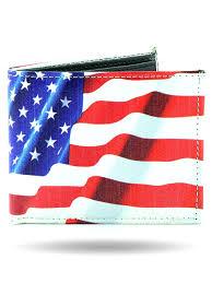 w3129 usa flag biker wallet